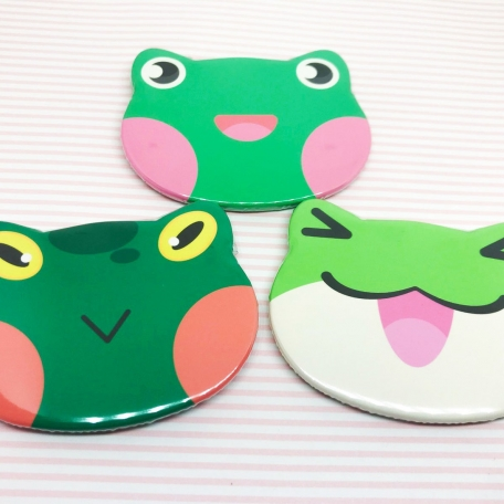 Frog Shaped Buttons