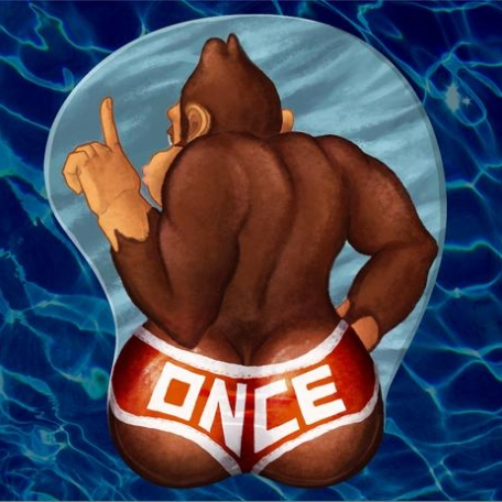 **PREORDER** Donkey Kong ONCE Booty 3D Mousepad