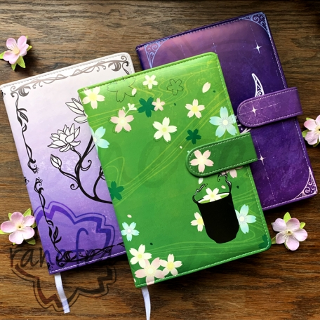 Journal/Notebook/Diary | Faux Leather | A5 | 75 sheets/150 pages | Magnetic Clasp