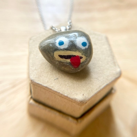 It's a Rock Fact Necklace
